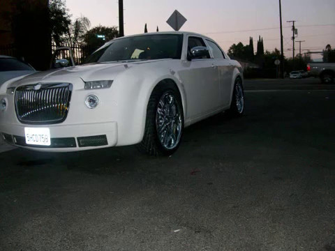 Chrysler 300 Front Body Kit Youtube