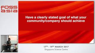 Lessons from {distributed,remote,virtual} communities and companies - Colin Charles - FOSSASIA 2017