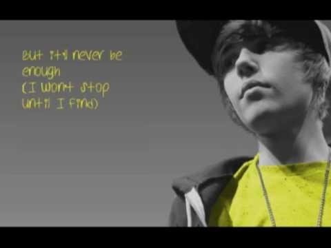 Justin Bieber-Runaway love[HQ+Lyrics]
