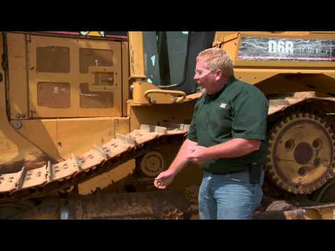 Cat® Dozer | Recoil Assembly And Equalizer Bar
