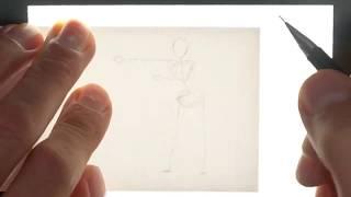 World's Smallest Flipbook Dancers..😎😎