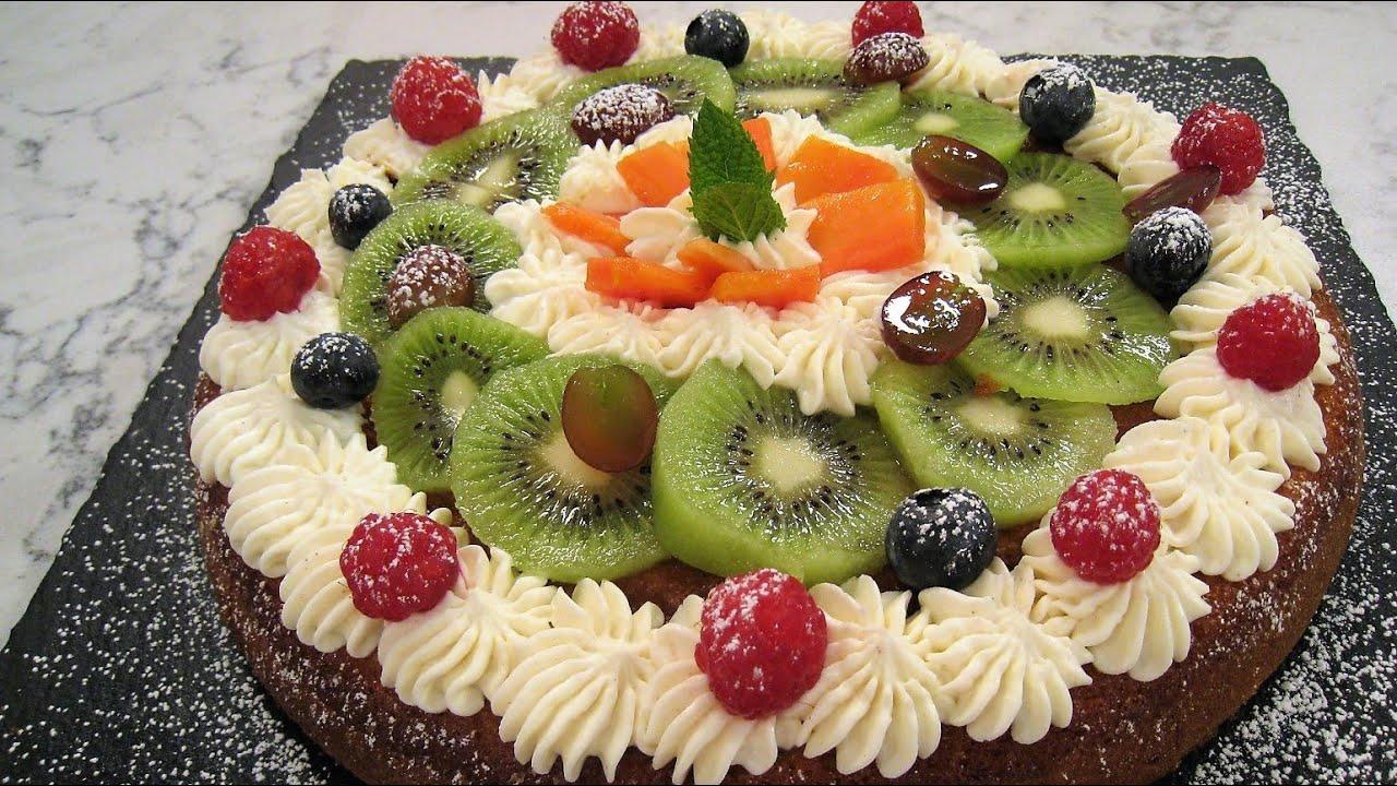 Bizcocho De Frutas Youtube
