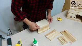 [우드몬스터]  DIY  미니틈새 화장서랍 만들기 - …