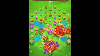 Blossom Blast Saga Level 200 No Boosters