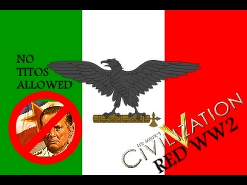 Conncast Plays Civ5 RED WW2 Part 2: Defenders of Belgrade