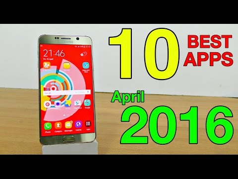 Top 10 Best Android Apps Of April 2016 (4K)