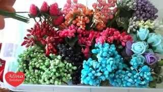 Украшения для Канзаши и Цветов из Лент в Гостях у Алины Болобан. handmade, kanzashi. tutorial