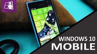 Windows 10 Mobile Build 10586,29 está liberada