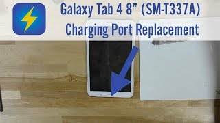 """Galaxy Tab 4 8"""" (SM-T337A) Charging Port Replacement"""