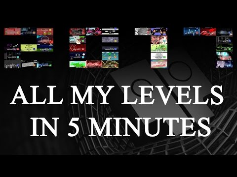 all my 2k16 levels in 5 minutes happy new year