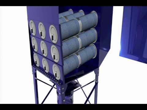Downflo Oval Dust Collectors from Donaldson Torit - Industrial Air Filtration