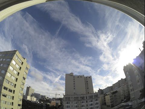 Chemtrails over San Francisco, 11-8-15