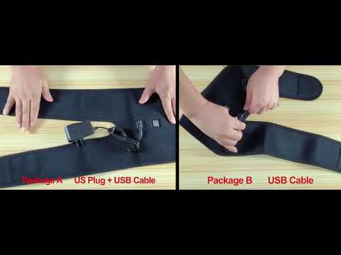Heated Knee Support for Arthritis, Therapy Pain Relief and Massage with 3 Temp. Control