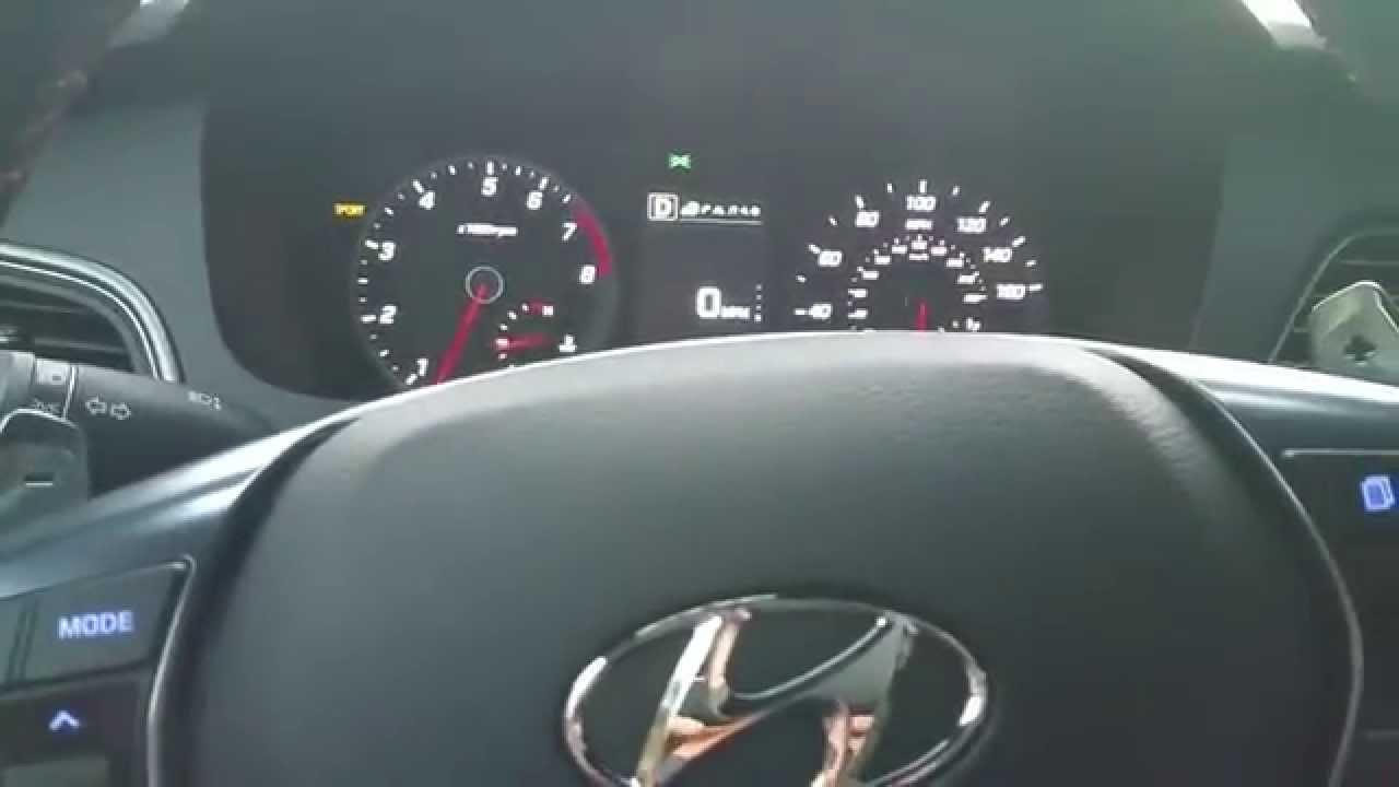 2015 Hyundai Sonata Sport 2 0t 0 60