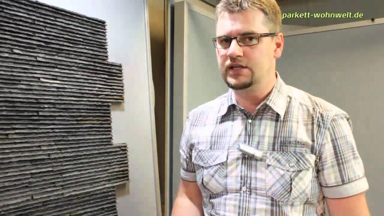 Wandverkleidung Naturstein  15x60cm  Black