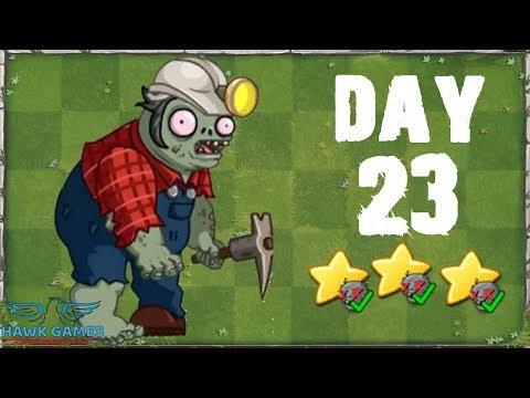 Plants vs Zombies 2 China - Modern Day Day 23 [Digger Zombie]《植物大战僵尸2》- 摩登世界 23天