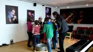 """Artacts 2012 Impro mit Kindern - """"Wilder Kaiserschmarrn"""" mit Hannes Löschel"""