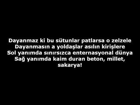Bandista - Beton Millet Sakarya (Lirik)