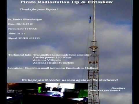 6241Khz Shortwave pirate station from the East of the Netherlands