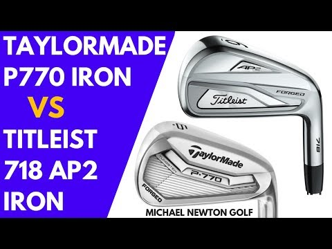 Titleist 718 AP2 Iron VS TaylorMade P770 Iron - Head To Head
