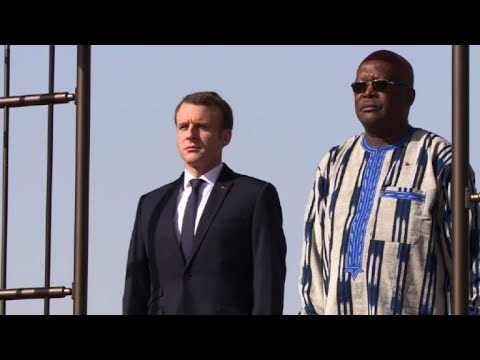 Macron arrives in Burkina Faso, hours after grenade attack