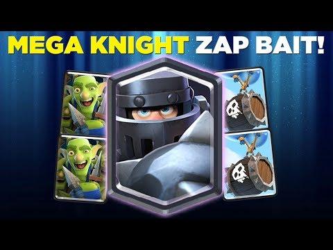 12-0 GRAND CHALLENGE! Mega Knight Zap Bait Deck LIVE Grand Challenge Gameplay - Clash Royale