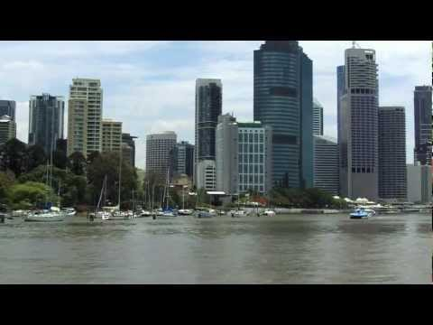 Brisbane River by city cat