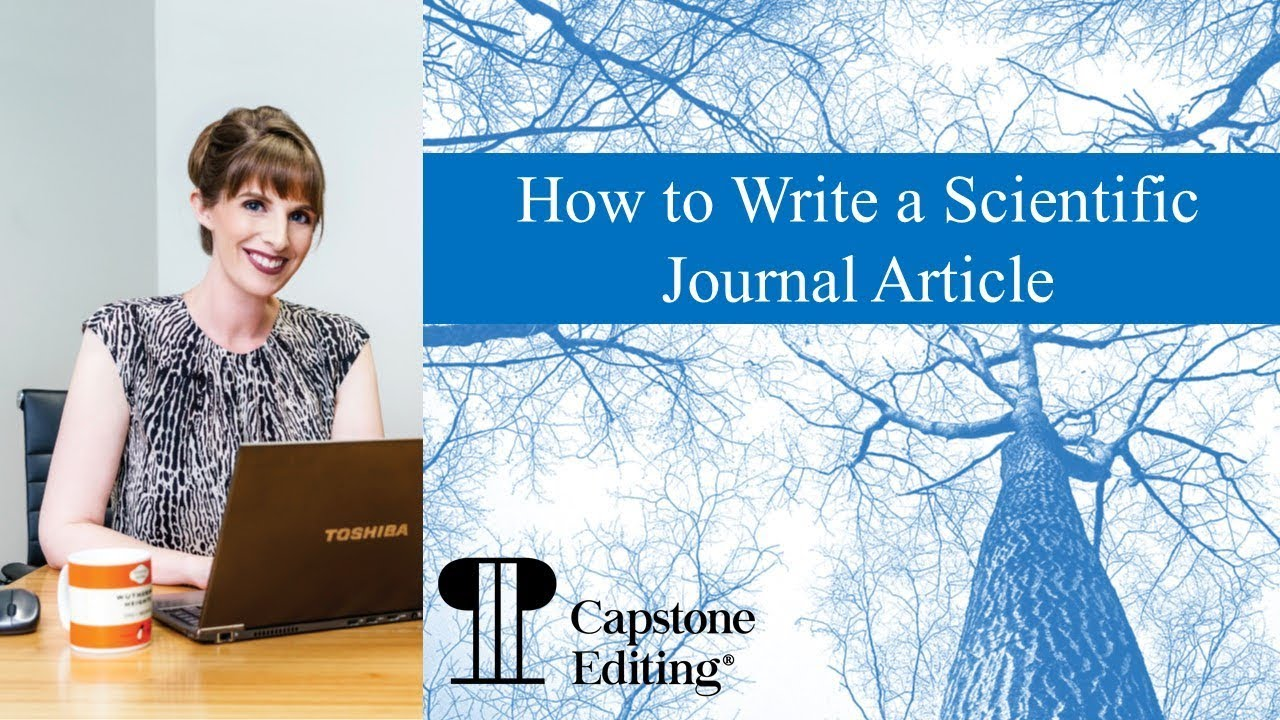 How to Write a Scientific Journal Article