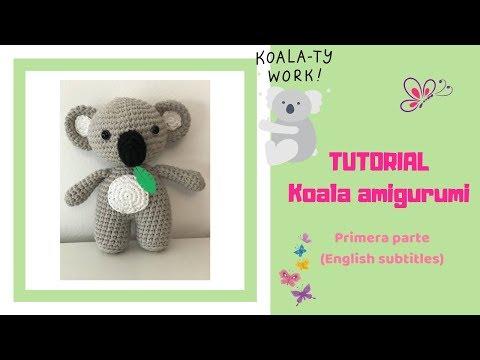 Koala amigurumi crochet pattern. DIY handmade toy.   360x480