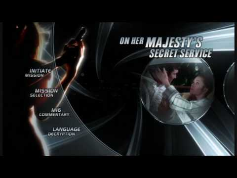James Bond - Ultimate DVD Menus - On Her Majesty's Secret Service