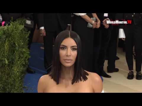Kim Kardashian arrives at 2017 Met Gala
