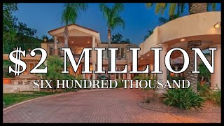 2600000 gated resort like living in poway with a private waterfall