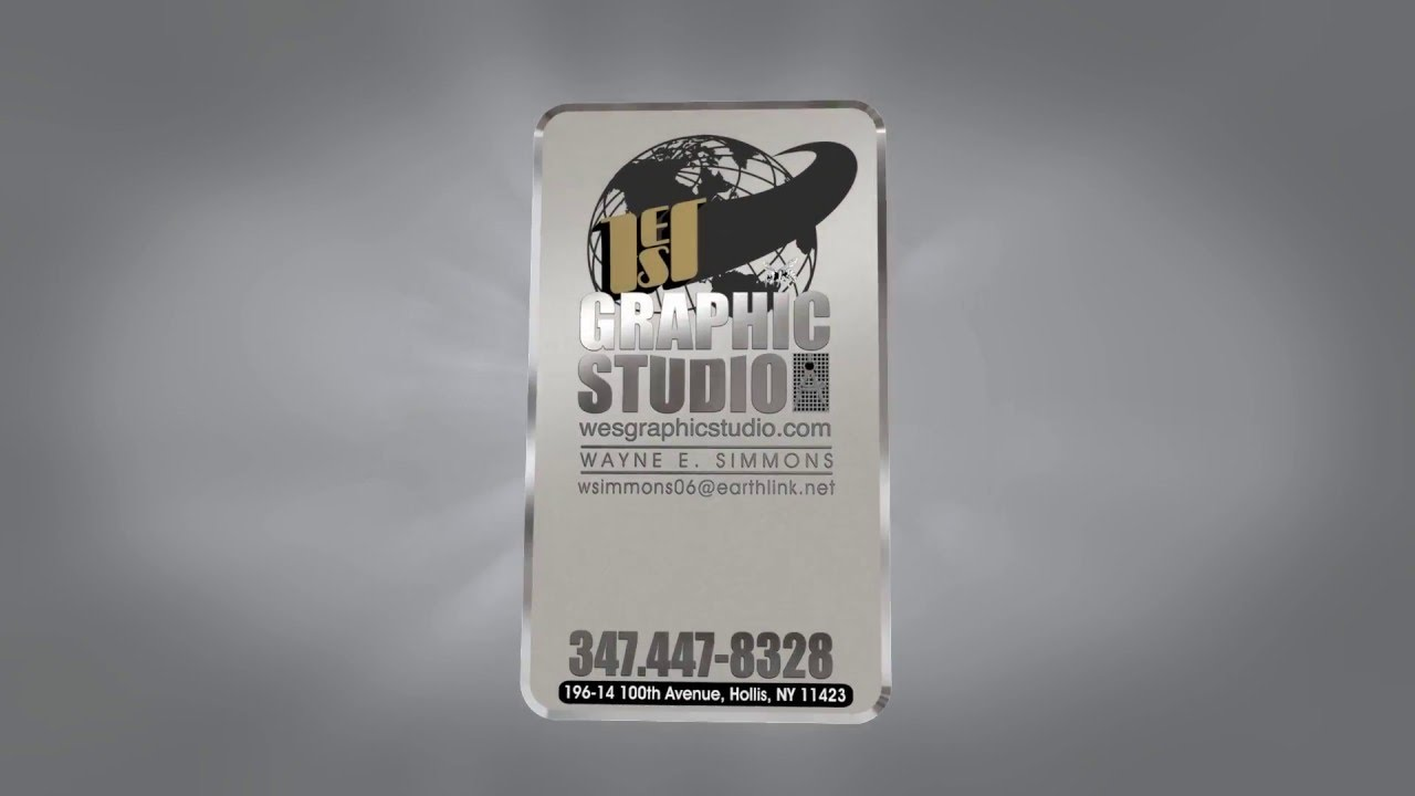 Mirror finish etched metal business card youtube mirror finish etched metal business card magicingreecefo Image collections