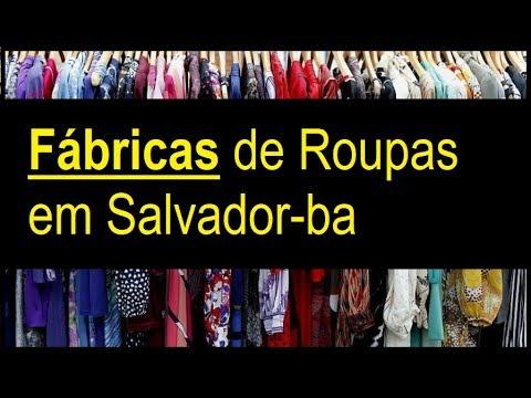 95bad0989 Fabricas de roupas em salvador - YouTube