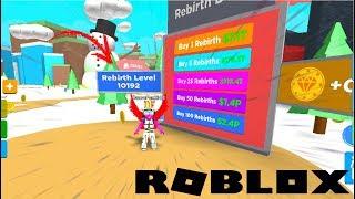 J'AI 10K REBIRTHS !! | Roblox Magnet Simulator