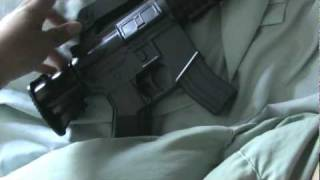 review of the uhc mini m4 xm 177 airsoft gun