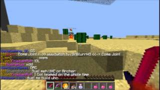 Minecraft pvp:PUTTER VS SUPERSONIC249 (cool texxture pack)