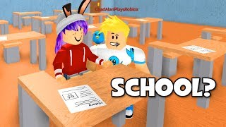 ROBLOX HIGH SCHOOL ROLEPLAY | SUMMER BREAK! | RADIOJH GAMES & GAMER CHAD