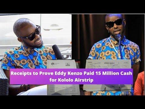 Receipts to Prove Eddy Kenzo Paid 15 Million Cash for Kololo Airstrip