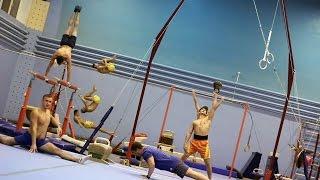 Видеоурок спортивная гимнастика