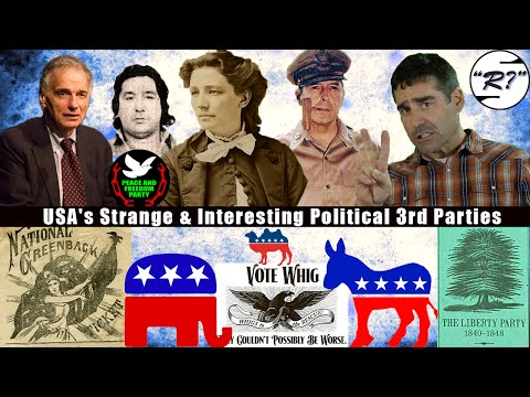 Political 3rd Parties of the US