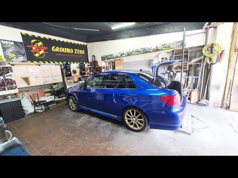 Реанимация Subaru Impreza WRX - Начало