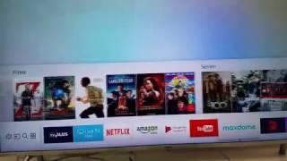 новая модель 2017 года Самсунг ТВ серия М - тест