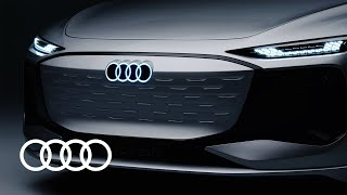 The Audi A6 e-tron concept: luxury-class design electrified
