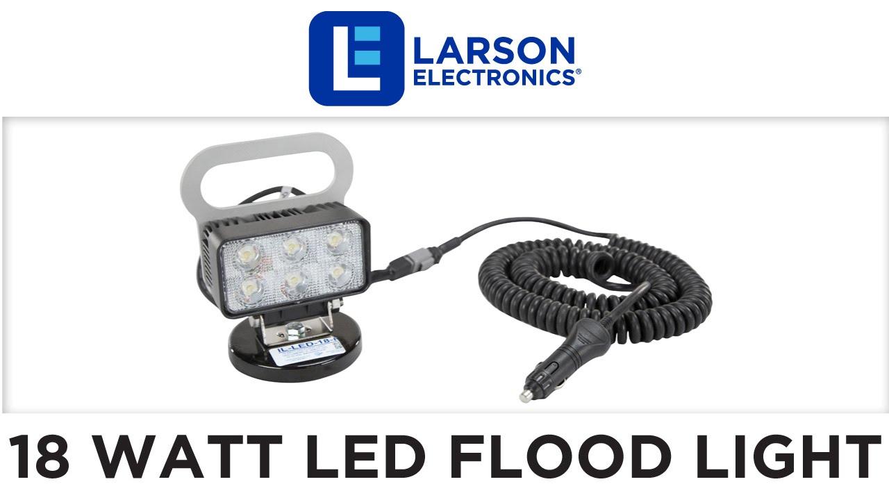 18 watt led flood light - magnetic base