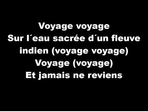 Voyage Voyage Desireless - Paroles