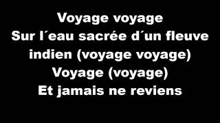 Voyage Voyage Desireless - Paroles