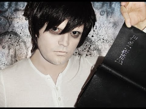 L Death Note Makeup Tutorial Youtube