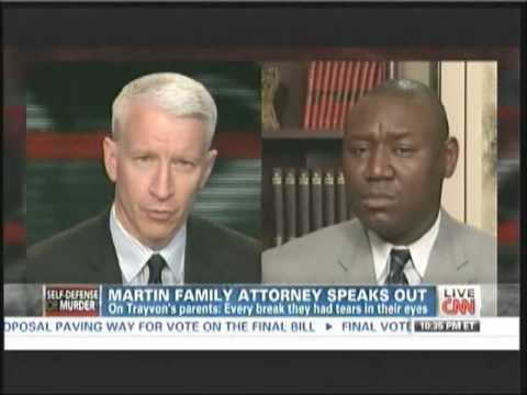Benjamin Crump on Anderson Cooper June 24 2013