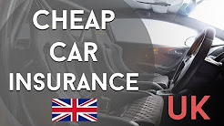Cars: How to Get CHEAP Car Insurance in The UK 2017
